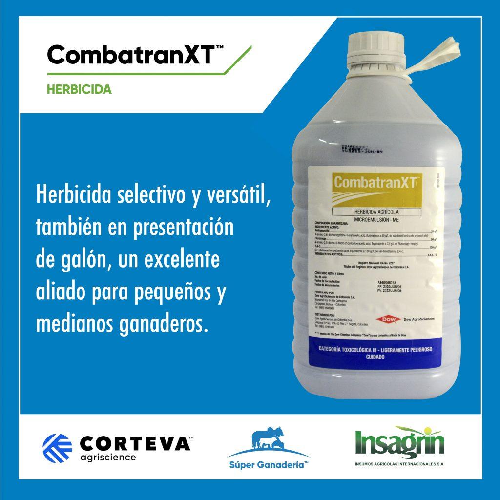Combatran XT, herbicida para potreros