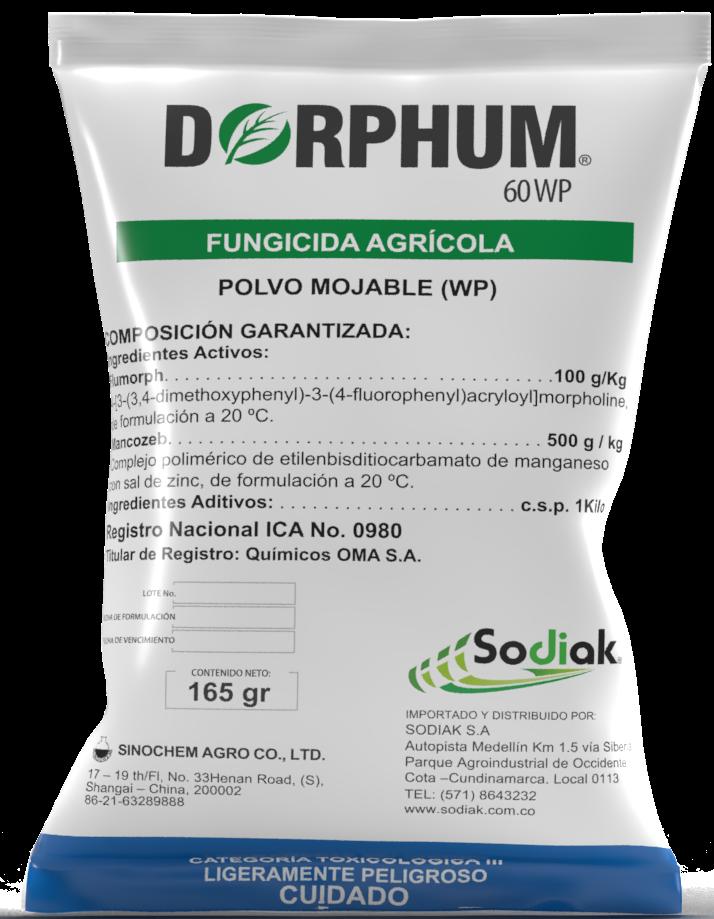 Dorphum, fungicida para el tomate y la cebolla